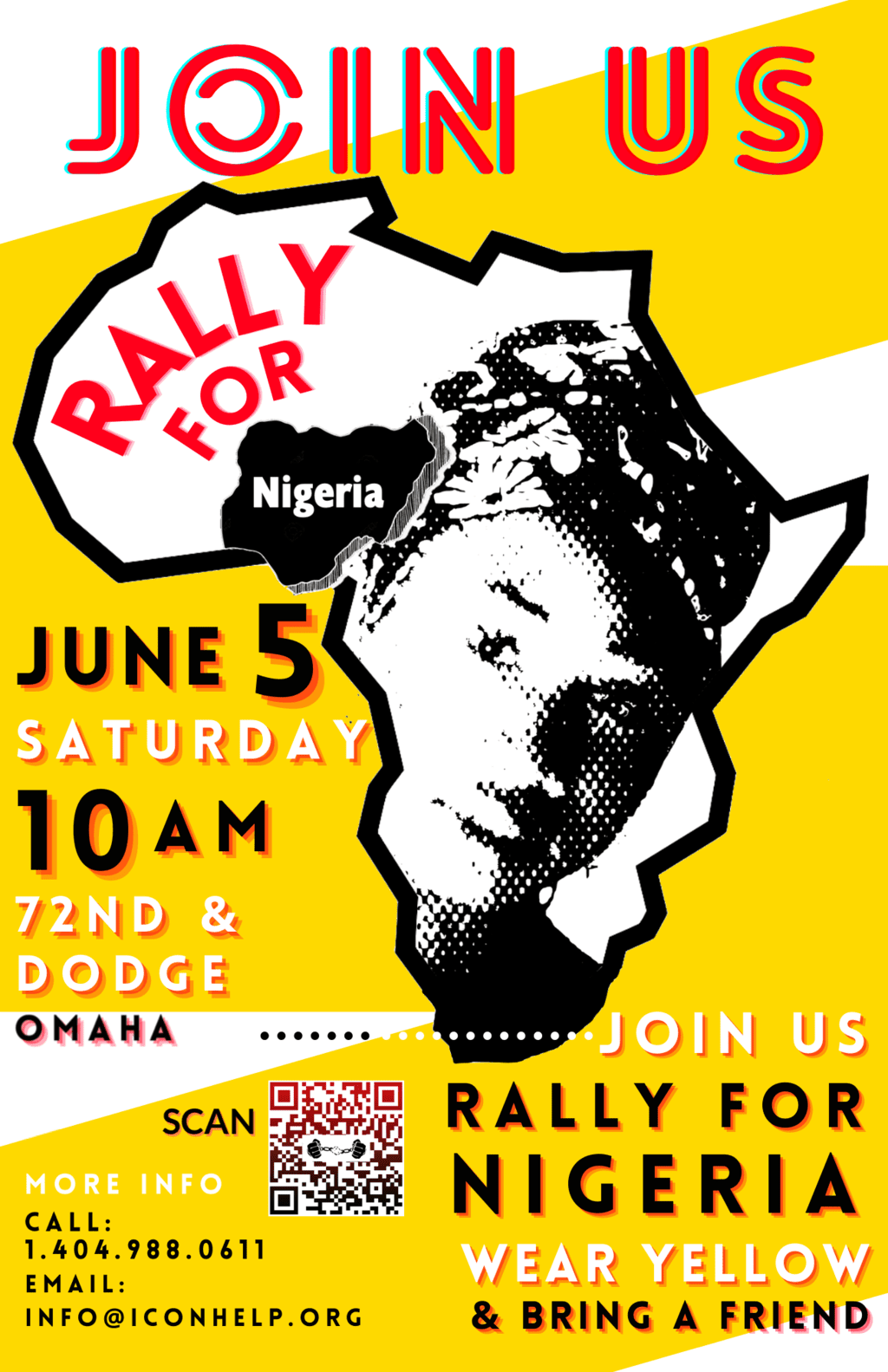 RELEASE – Demonstration in Omaha to Free the Slaves of Nigeria